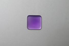 Lunasoft Cabochon Vierkant 17 mm, Grape