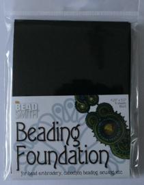 Beadsmith Beading Foundation, 4 vellen van 4,5x5 inch, zwart