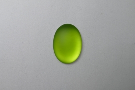 Lunasoft Cabochon Ovaal 25x18, Lime