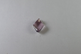 Cubist Pendant, 22 mm, Swarovski Elements, Light Amethyst