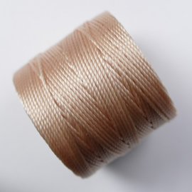 S-Lon TEX 210 Superlon Bead Cord, Natural