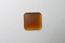 Lunasoft Cabochon Vierkant 22 mm, Copper