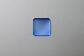 Lunasoft Cabochon Vierkant 17 mm, Sky Blue