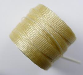S-Lon TEX 210 Superlon Bead Cord, Pale Yellow