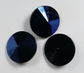 Rivoli, 14 mm, Matubo, Blue Iris Jet