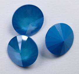 Rivoli 14mm Azure Blue