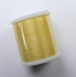 Miyuki Beading Thread, Geel