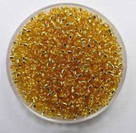 Miyuki Rocailles, 11/0 , Silver Lined Gold, kleurnummer 3