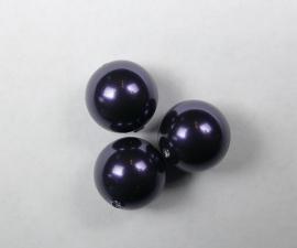 Parels, 10 mm, Swarovski, Dark Purple