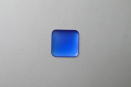 Lunasoft Cabochon Vierkant 17 mm, Blueberry