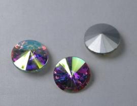 Rivoli, 14 mm, Preciosa, Crystal AB