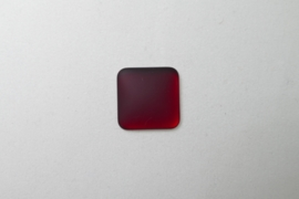 Lunasoft Cabochon Vierkant 17 mm, Garnet