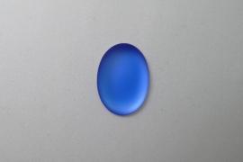 Lunasoft Cabochon Ovaal 25x18, Blueberry