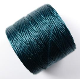 S-Lon TEX 210 Superlon Bead Cord, Green Blue