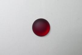 Lunasoft Cabochon Rond 18 mm, Garnet