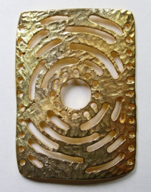 Connector, 30x42 mm, Gold Plated