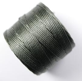S-Lon TEX 210 Superlon Bead Cord, Gunmetal