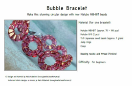 Gratis patroon: Bubble Bracelet
