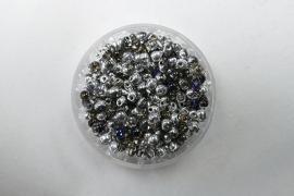Miyuki Drops, 3,4 mm, Crystal Heliotrope, kleurnummer 4554