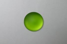 Lunasoft Cabochon Rond 24 mm, Lime