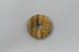 Donut 30 mm Picture Jasper