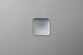Lunasoft Cabochon Vierkant 17 mm, pearl