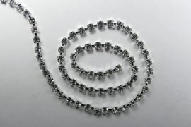 Cupchain, 12SS, Silver Plate, Crystal