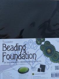 Beadsmith Beading Foundation, 8,5x11 inch, zwart