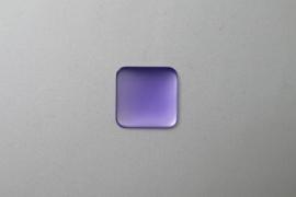Lunasoft Cabochon Vierkant 17 mm, Lavender