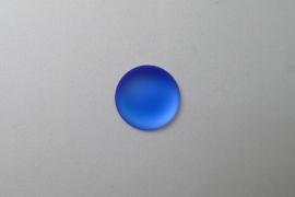Lunasoft Cabochon Rond 18 mm, Blueberry