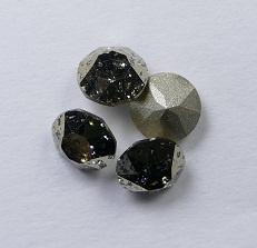 Chaton SS29, Crystal Gold Patina