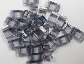 Trägerperlen, Grijs, 30 stuks