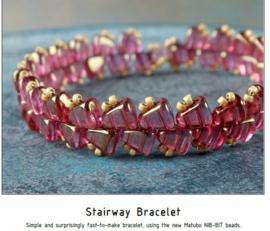 Gratis patroon: Stairway Bracelet