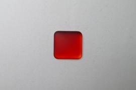 Lunasoft Cabochon Vierkant 17 mm, Cherry