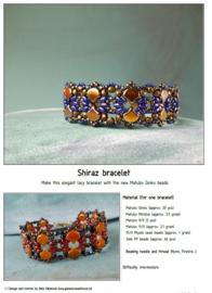 Gratis patroon: Ginko Shiraz Bracelet