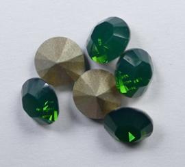Maxima Chaton, ss34, Preciosa, Palace Green Opal