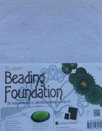 Beadsmith Beading Foundation, 8,5x11 inch, wit
