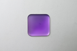 Lunasoft Cabochon Vierkant 22 mm, Grape