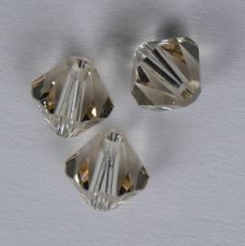 6 mm Ceylon Topaz Swarovski Element Bicones, op=op!