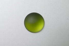 Lunasoft Cabochon Rond 24 mm, Olive