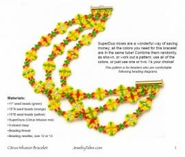 Gratis patroon: Citrus