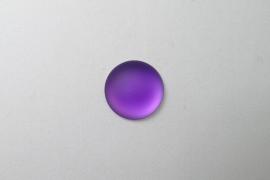Lunasoft Cabochon Rond 18 mm, Grape