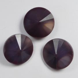 Rivoli, 14 mm, Matubo, Dark Violet