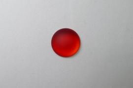 Lunasoft Cabochon Rond 18 mm, Cherry