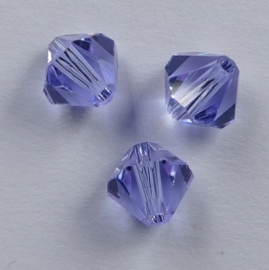 6 mm Alexandrite Swarovski Element Bicones, op=op!