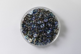 O Beads, Crystal Graphite Rainbow