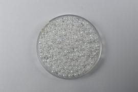 Miyuki Drops, 2,8 mm, White Pearl, kleurnummer 420