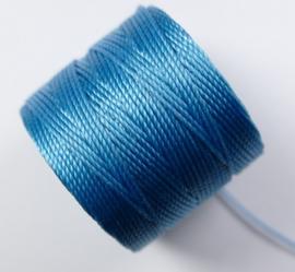 S-Lon TEX 210 Superlon Bead Cord, Nile Blue