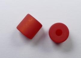 8 mm Polaris cilinder kraal, rood