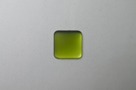 Lunasoft Cabochon Vierkant 17 mm, Olive